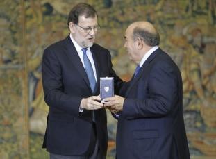 Medalla de oro al merito del trabajo famadesa federico beltran