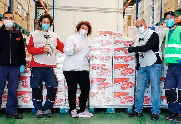 donacion-famadesa-a-bansolo-alimentos-malaga